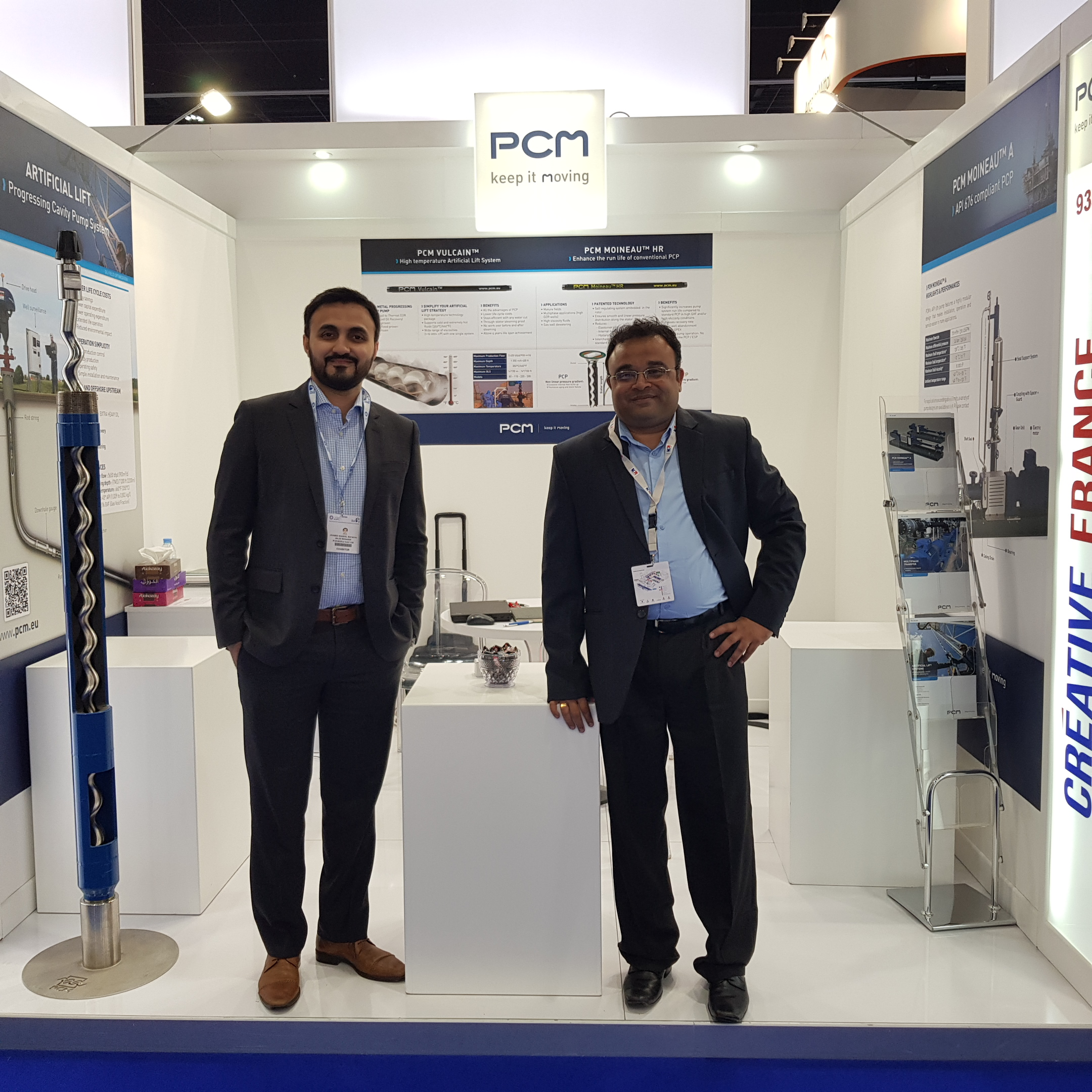PCM exhibiting at Adipec (Abu Dhabi)