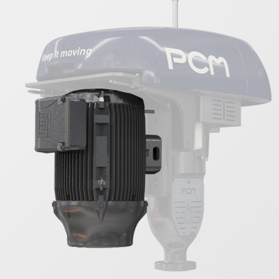 PCM electric motor