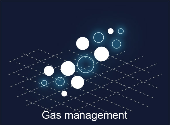 ALS technologies comparison - Gas management
