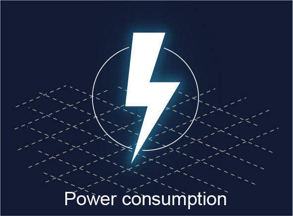 ALS technologies comparison - Power consumption
