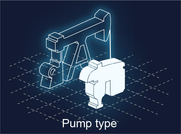 ALS technologies comparison - Pump type
