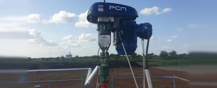 PCM Slugger HRPCP in a gassy wells in East Africa